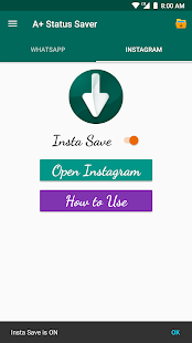 A+ Status Saver (Instagram Video Downloader) Screenshot