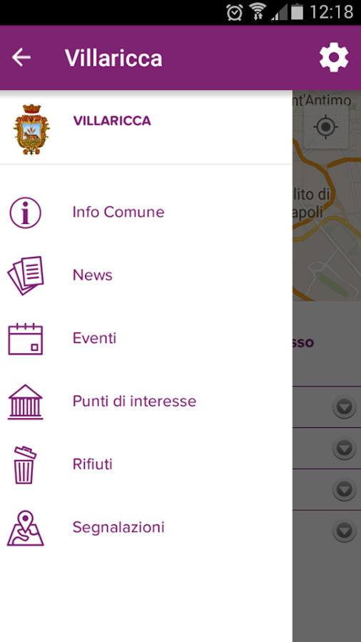 Appincomune- screenshot
