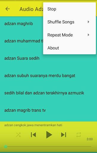 Mp3 suara adzan merdu for android apk download.