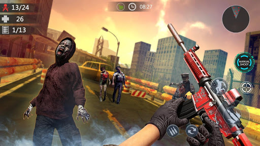 Zombie Critical Strike- New Offline FPS 2020 apkpoly screenshots 4