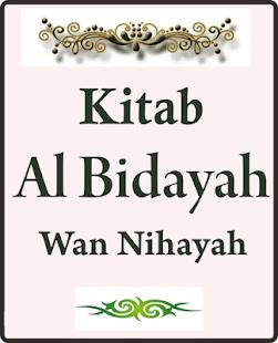 Kitab Al Bidayah Wan Nihayah Ibnu Katsir - náhled