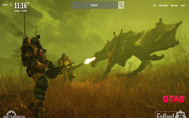 Fallout 76 Karte Deutsch.Fallout 76 New Tab Fallout 76 Wallpapers