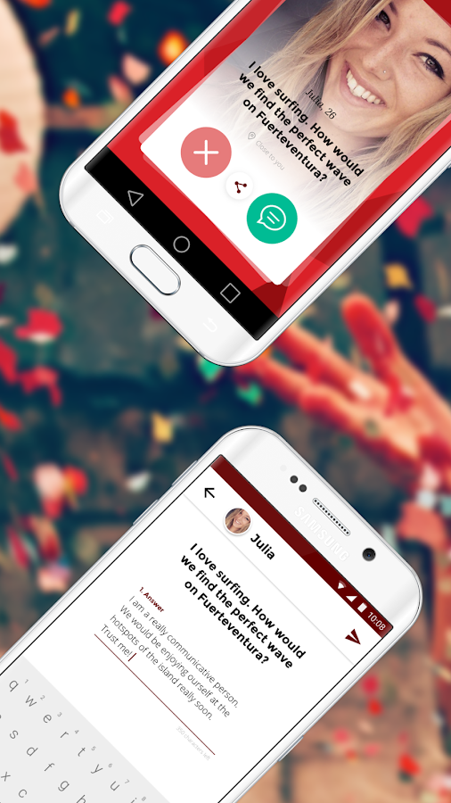 Candidate – Dating App- screenshot