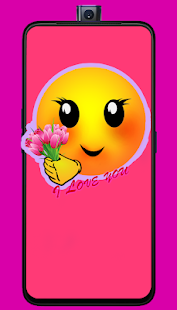 Download romantic love emoji quotes For PC Windows and Mac apk screenshot 2