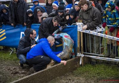"""Na zijn stevige valpartij in de GP Sven Nys helemaal klaar voor BK: """"Een geluk dat ik niets aan mijn ribben heb overgehouden"""""""