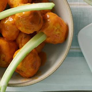 Slow-Cooker Buffalo Chicken Meatballs.