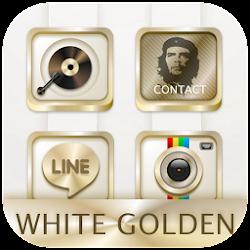White Golden Theme