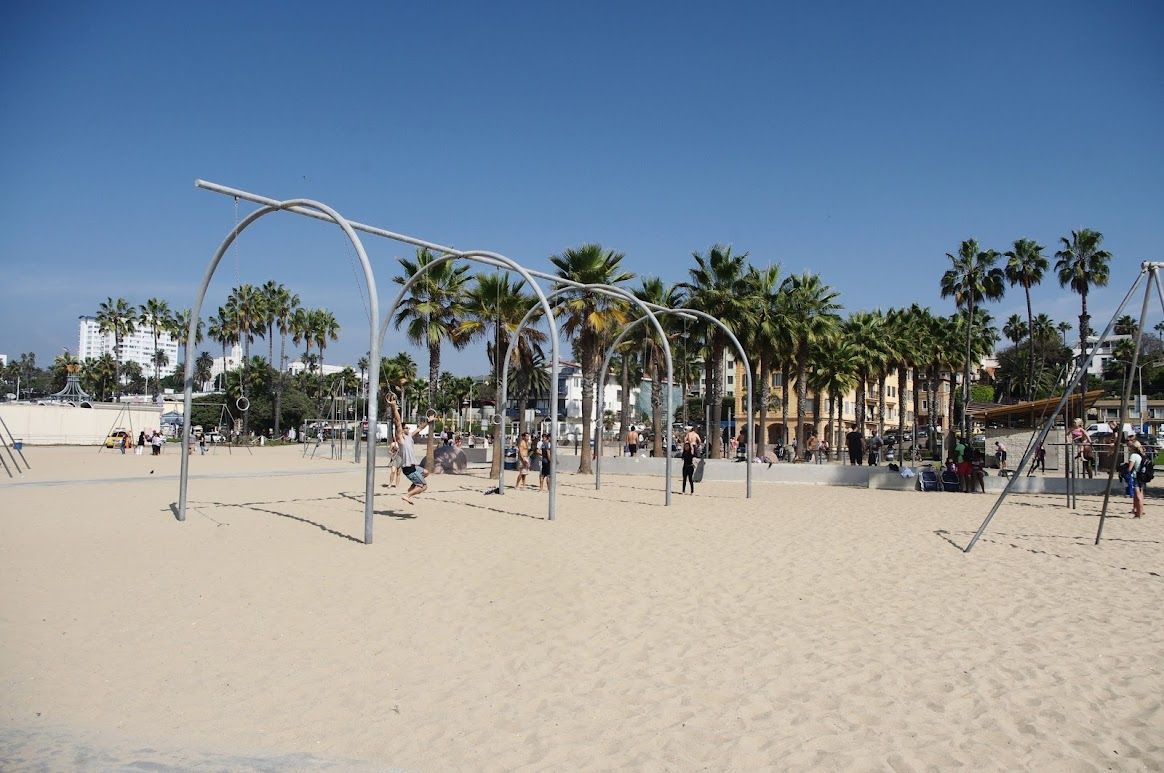 Los Ángeles, Original Muscle Beach