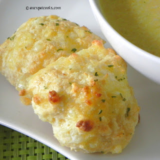 Garlic Cheese Biscuits.