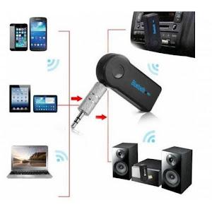 Adaptor Car Kit Wireless Aux 3.5 mm Audio Bluetooth Handsfree