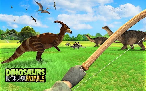 Dinosaur Hunter Free Wild Jungle Animals Safari  screenshots 8