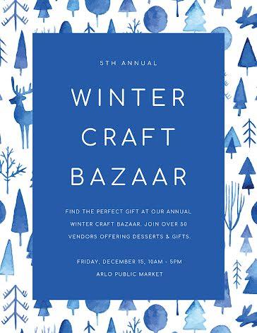 Winter Craft Bazaar - Flyer Template