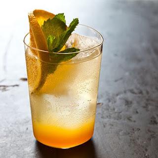Orange Ginger Mint Sodas.