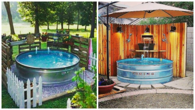 Stock Tank Pools Are The Latest In Backyard Design And You're Going To Want One