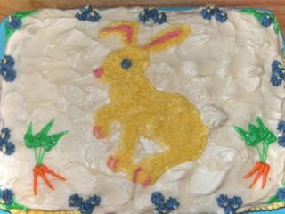 Carrot Cake Bunnies Would Kill For! You Think Bunnies Are Soft, Sweet And Fuzzy, Well Not When They Get Around This Cake! 5 Star Or So My Friends Think! Recipe