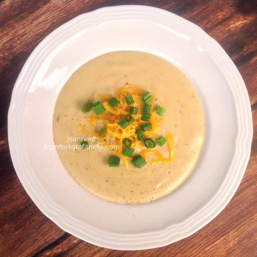 Cheddar Baked Potato Soup