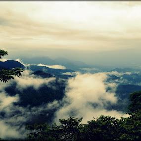 by Vijayendra Venkatesh - Landscapes Cloud Formations
