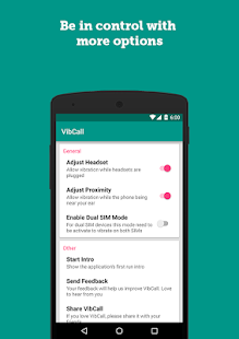 VibCall - Vibrate on answer- screenshot thumbnail