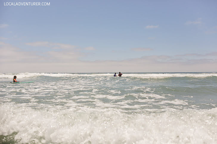 Pacific Beach California (Best Places to Learn How to Surf).