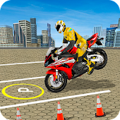 Bike Parking Stunt Driver: Bike Parking Games 2017
