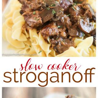 Homemade Stroganoff