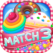 Candy Cakes - match 3 game with sweet cupcakes