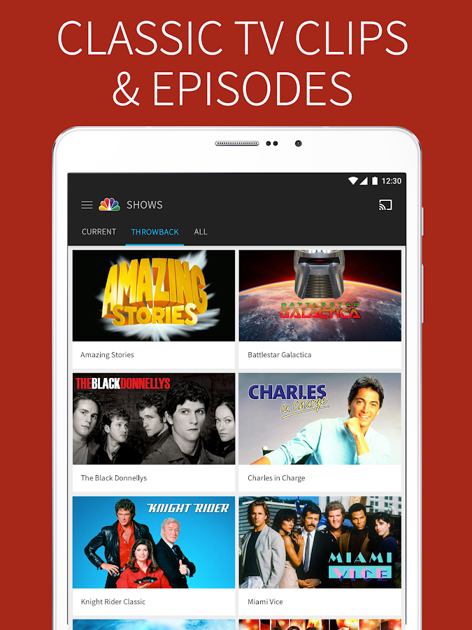 The NBC App - Watch Live TV and Full Episodes- screenshot