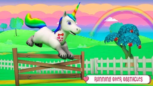 Baby Unicorn Wild Life: Pony Horse Simulator Games modavailable screenshots 3