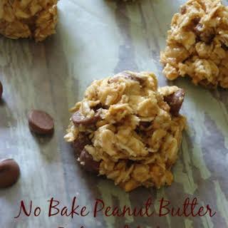 No Bake Peanut Butter Oatmeal Bites.