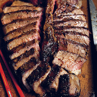 Porterhouse with Garlic-Soy Sauce Marinade