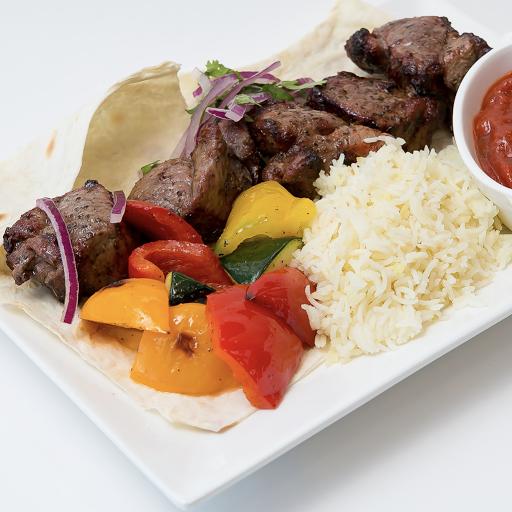 Lamb Shashlik Meal