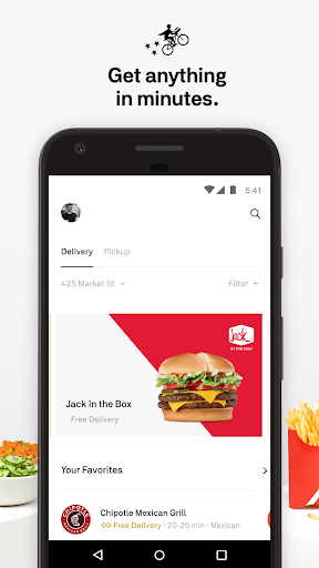 Screenshot for Postmates Food Delivery: Order Eats & Alcohol in United States Play Store