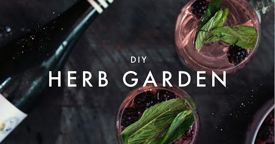 DIY Herb Garden - Facebook Event Cover Template