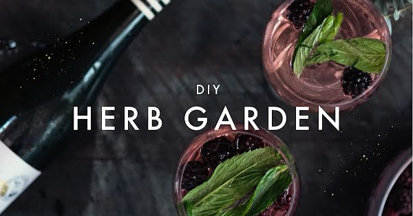 DIY Herb Garden - Facebook Event Cover Template