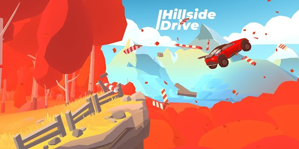 Hillside Drive – Hill Climb MOD (Unlimited Money/Diamonds) 1