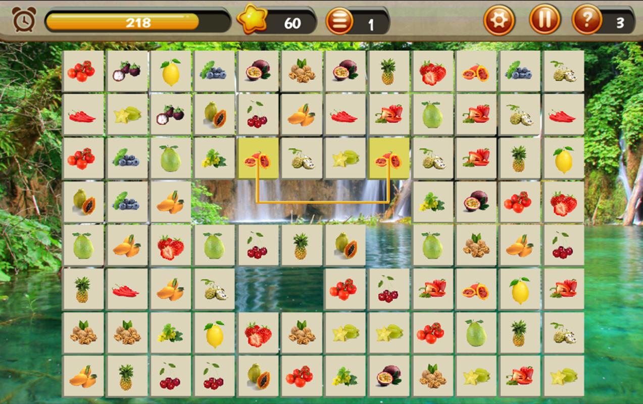 Game onet fruit - Onet Fruits Screenshot
