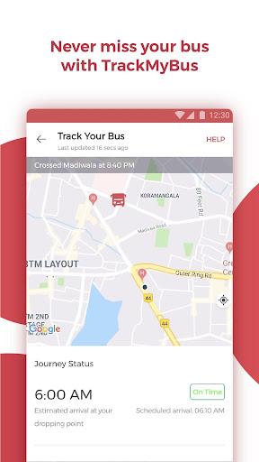 redBus - Online Bus Ticket Booking screenshot 5