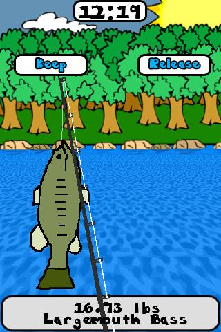 Скриншот Doodle Fishing Lite