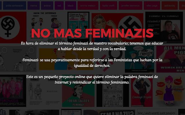 No Mas Feminazis Online