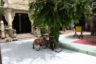 Photo: Year 2 Day 55 - Rickshaw at Shwekyimyin Paya