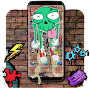 Cool Graffiti Skull Theme APK icon