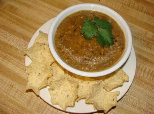 "Easy Roasted Green Salsa (Salsa Verde) ""This one is great with chips,..."