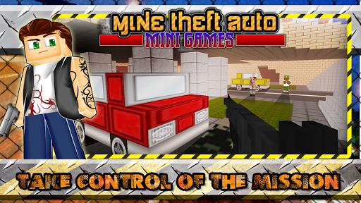Mine Theft Auto Mini Games