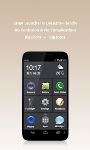 Large Launcher - Big Icon,Font- screenshot thumbnail