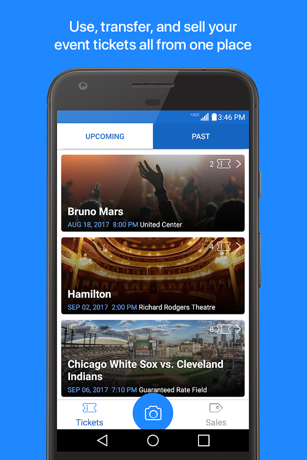 TicketFire - Tickets to Sports, Concerts, Theater- screenshot
