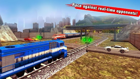 Train Racing Games 3D 2 Player- screenshot thumbnail