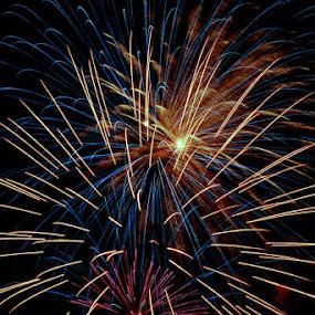 Fireworks by Marta Felgueiras - Abstract Fire & Fireworks ( fireworks,  )