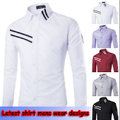 Latest shirt mens wear designs