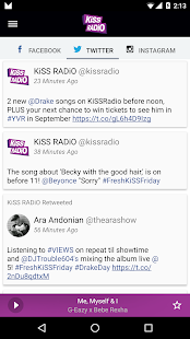 KiSS RADiO- screenshot thumbnail