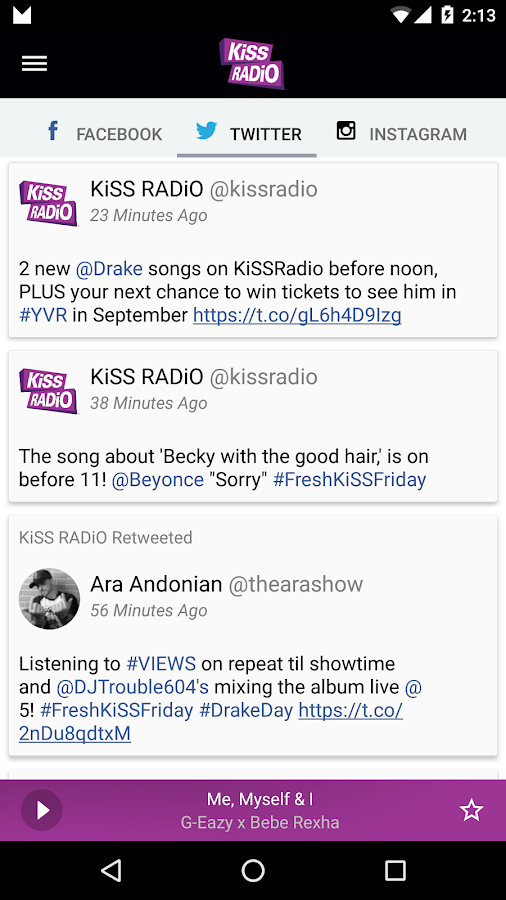 KiSS RADiO- screenshot